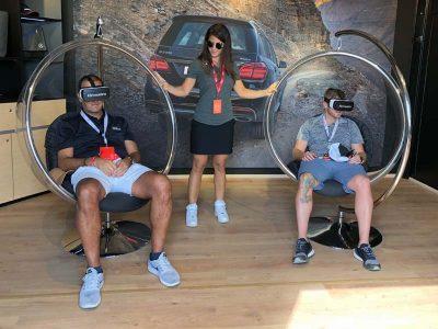 VR activation Mercedes GLS500 Test Drive